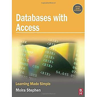 Bases de datos con Access: aprendizaje hecho Simple