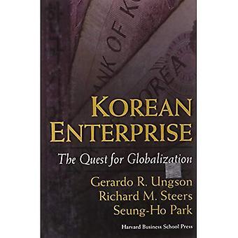 Entreprise coréenne: La quête de la mondialisation