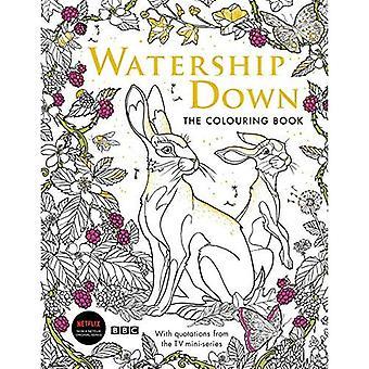Watership vers le bas: Le livre à colorier (livres à colorier classique Macmillan)