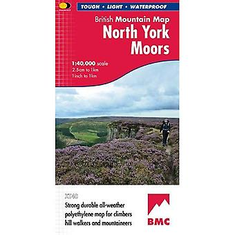 North York Moors (British Mountain Map)