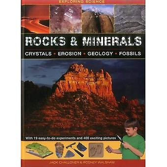 Rocks & Minerals: Crystals * Erosion * Geology * Fossils (Exploring Science)
