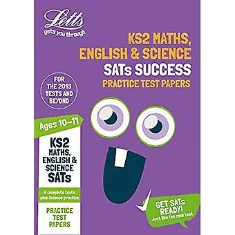 KS2 Maths, English and Science SATs Practice Test Papers: 2019 tests (Letts KS2 SATs Success) (Letts KS2 SATs Success)