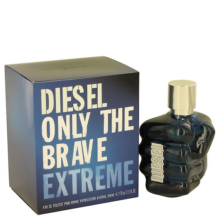 Only The Brave Extreme by Diesel Eau De Toilette Spray 2.5 oz / 75 ml (Men)