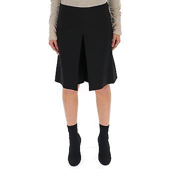 جيفنشي أسود تنورة الحرير