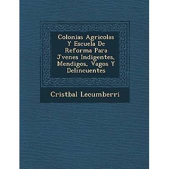 Colonias Agricolas Y Escuela De Reforma Para Jvenes Indigentes Mendigos Vagos Y Delincuentes by Lecumberri & Cristbal