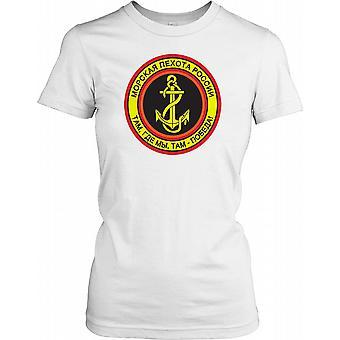 Russisk marineinfanteri Insignia damer T skjorte