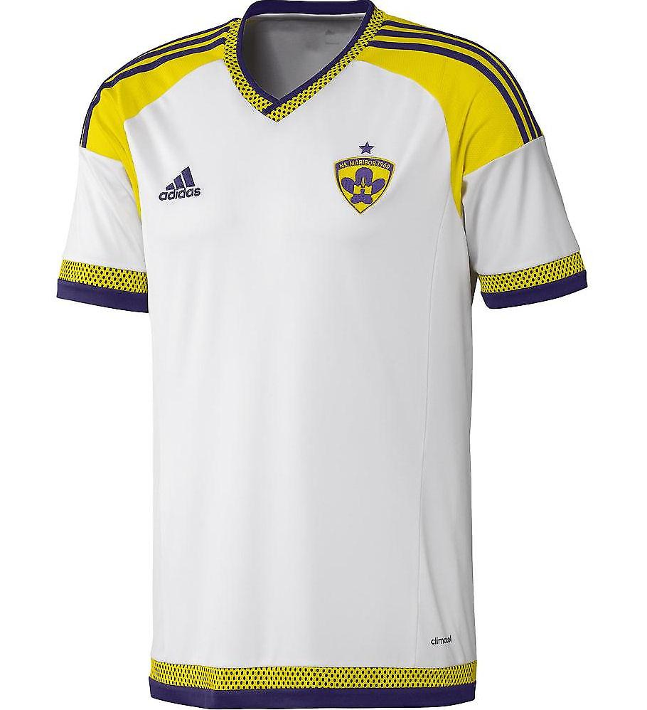 2015-2016 NK Maribor Adidas Away Football Shirt