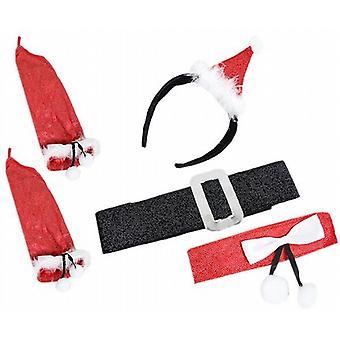 Fun Christmas Dressing Up Accessories Set - Santas Helper - (XA5489C)