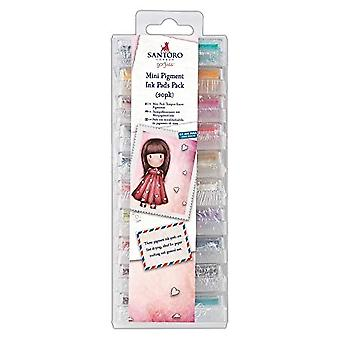 Docrafts Mini Pigment Ink Pads Pack (20pk) (GOR 550101)