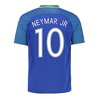 2016-17 Brazil Away Shirt (Neymar JR 10) - Kids