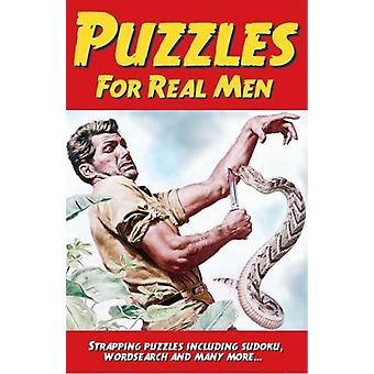 Puzzles for Real Men by Eric Saunders - 9781788280464 Book