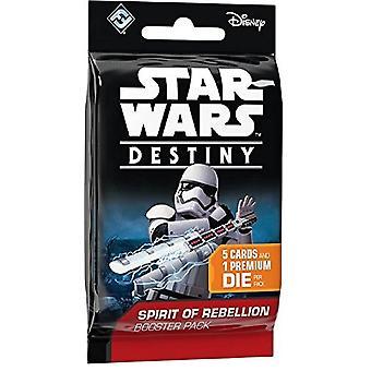 Star Wars Destiny Spirit of Rebellion Booster Card pack single pack