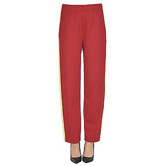 Acne Studios Red Polyester Pants
