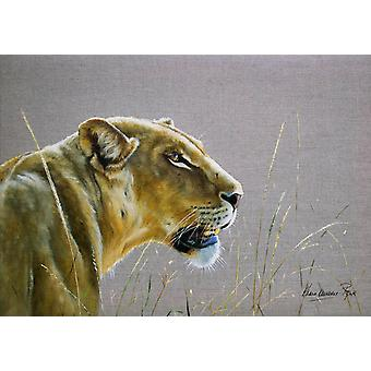 Country Matters Printed Placemat - Lioness
