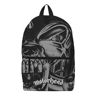 Motorhead Rucksack Tasche Warpig Zoom Band Logo überall drucken neue offizielle schwarz