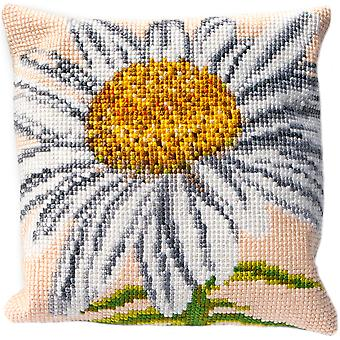 Marguerite Cushion Tapestry Kit-15.75