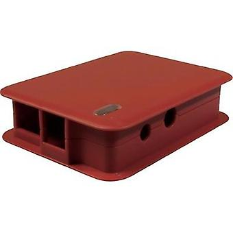 Raspberry Pi® enclosure Red TEK-BERRY.24 Raspberry Pi®