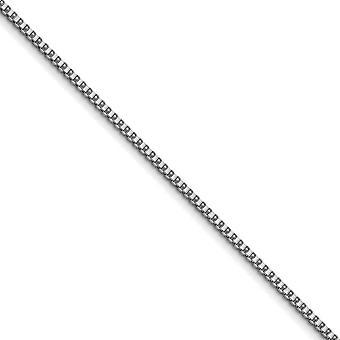 In acciaio inox lucido collana catena Box di fantasia aragosta chiusura 3,2 mm - Lunghezza: 20-30