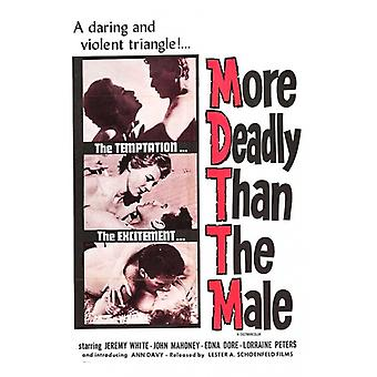 More Deadly Than the Male Movie Poster (11 x 17)
