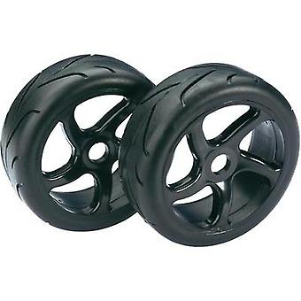 Absima 1:8 Buggy Wheels Street 5-spoke Black 2 pc(s)