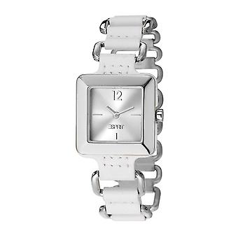 ESPRIT ladies watch bracelet watch PURO leather white ES106062002