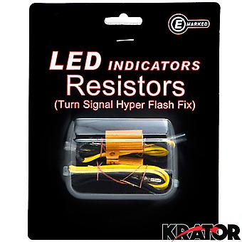 Led Bulb Load Resistors Flash Turn Signal Fix For Kawasaki Mule Mojave Bayou Lakota 4x4