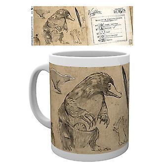 Bêtes fantastiques Nifflers Mug