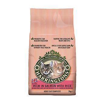 Harringtons komplet kat laks & ris 2kg
