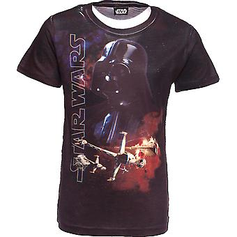STAR WARS | 3D T-Shirt | The Force Awakens | Darth Vadar | Age 11-12