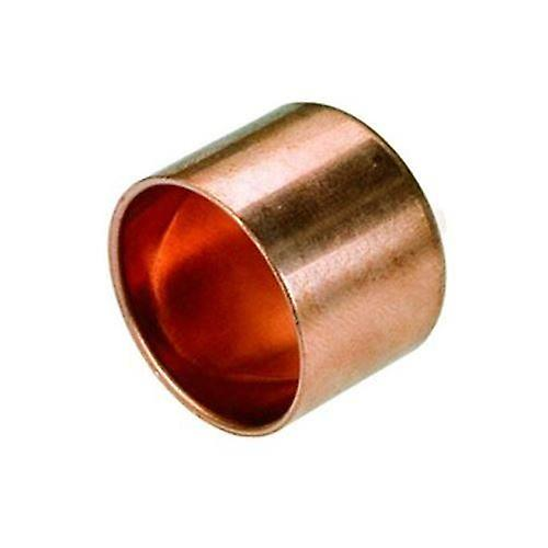 Female Pipe Fitting Ending Cap Copper Connect Solder Water Installation 15-28mm