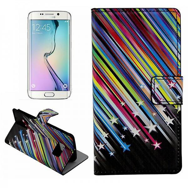 Cover wallet pattern 5 for Samsung Galaxy S6 edge G925 G925F