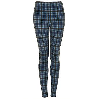 TS PETITE Denim Multi Check Leggings
