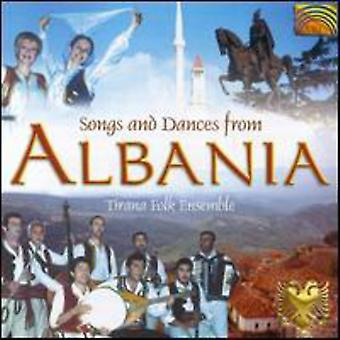 Tirana Folk Ensemble - Songs & Dances From Albania [CD] USA import