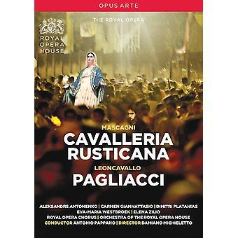 Importazione di Cavalleria Rusticana e Pagliacci [DVD] Stati Uniti d'America