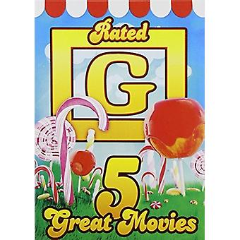 5 Great Movies: Rated G [DVD] USA import