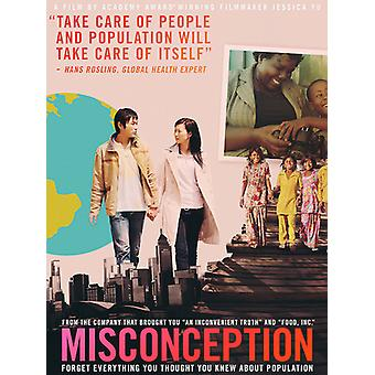 Misconception [DVD] USA import
