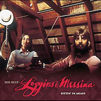 ロギンス ・ メッシーナ - ベスト: ロギンス ・ メッシーナ - に座って再び [CD] USA 輸入