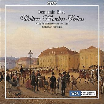 B. Bilse - Benjamin Bilse: Waltzes; Marches; Polkas [CD] USA import
