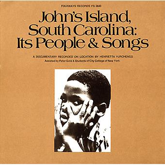 John's Island South Carolina: Its People & Songs - John's Island South Carolina: Its People & Songs [CD] USA import