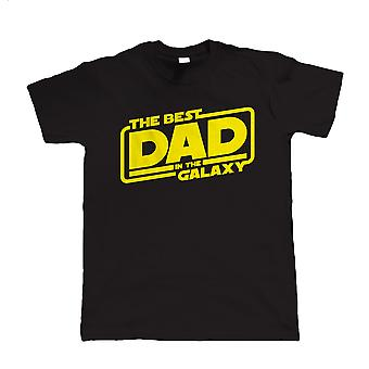 Najlepszy tata w galaktyce, Mens Funny T-Shirt