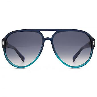 Gancio di LDN Wander grosso Cateye acetato occhiali da sole In cristallo marrone