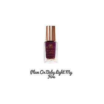 Barry M Barry M Sunset Nail Paint Plum On Baby Light My Fire