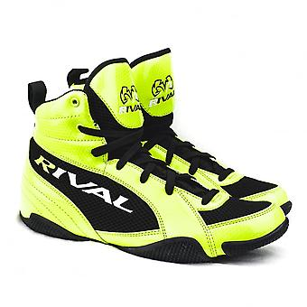 Rival RSX-GUERRERO Low Cut Kids Boxing Boots - Lime Black