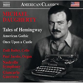 Daugherty / Bailey / Nashville symfoniorkester - American Gothic för orkester [CD] USA import