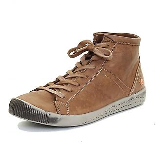 Softinos Softinos Isleen Washed Leather Womens High Top