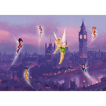 Tinker Bell Disney Fairies muurschildering 160x115cm versieren