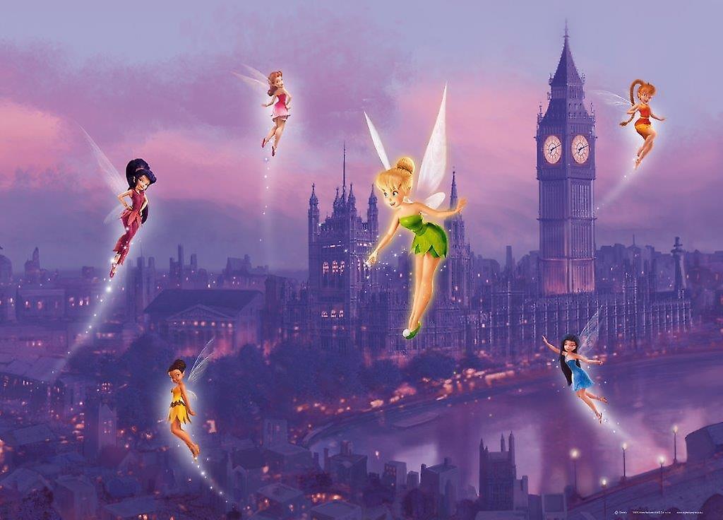 Tinker Bell Disney Fairies decoración Mural 160x115cm