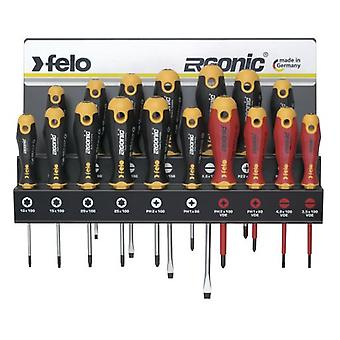 Felo Workshop tray Ergonic 17 Pieces (DIY , Tools , Handtools , Screwdriver , Sets)