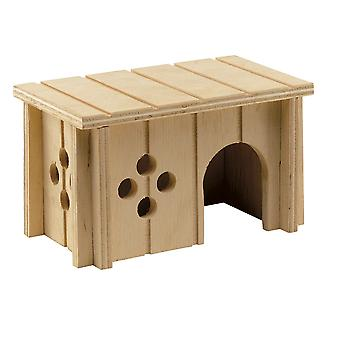 Ferplas Sin 4642 Wooden House For Rodents