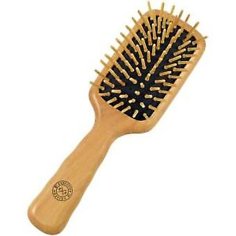 Executive Shaving Wooden Pin Hair Brush